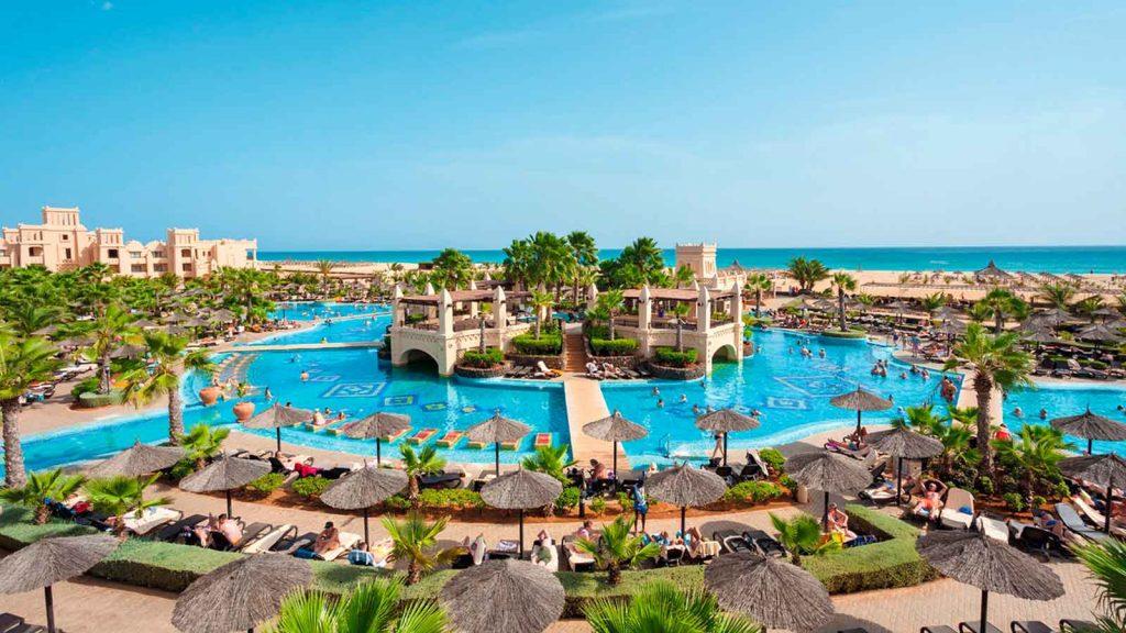 Hotel RIU Touareg Boa Vista overzicht resort