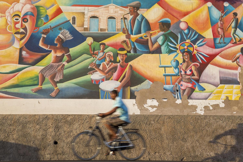 Street art op São Vicente