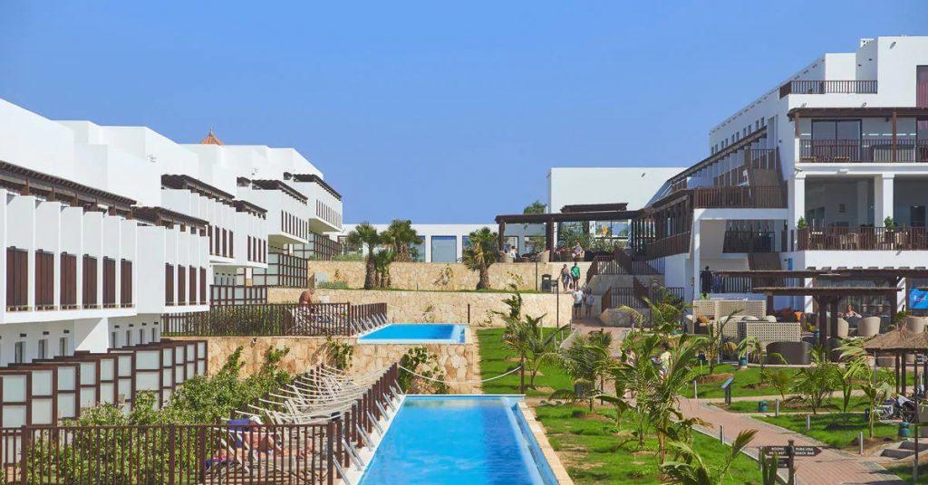 Hotel Melia Llana Beach Resort Sal kamers zwembad