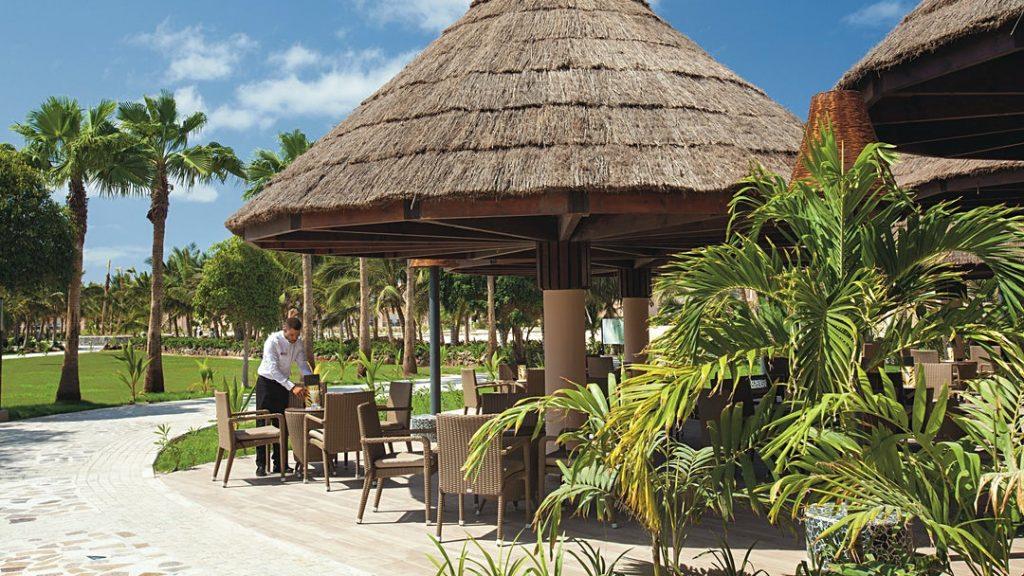 Hotel RIU Cabo Verde Sal zonnig terras