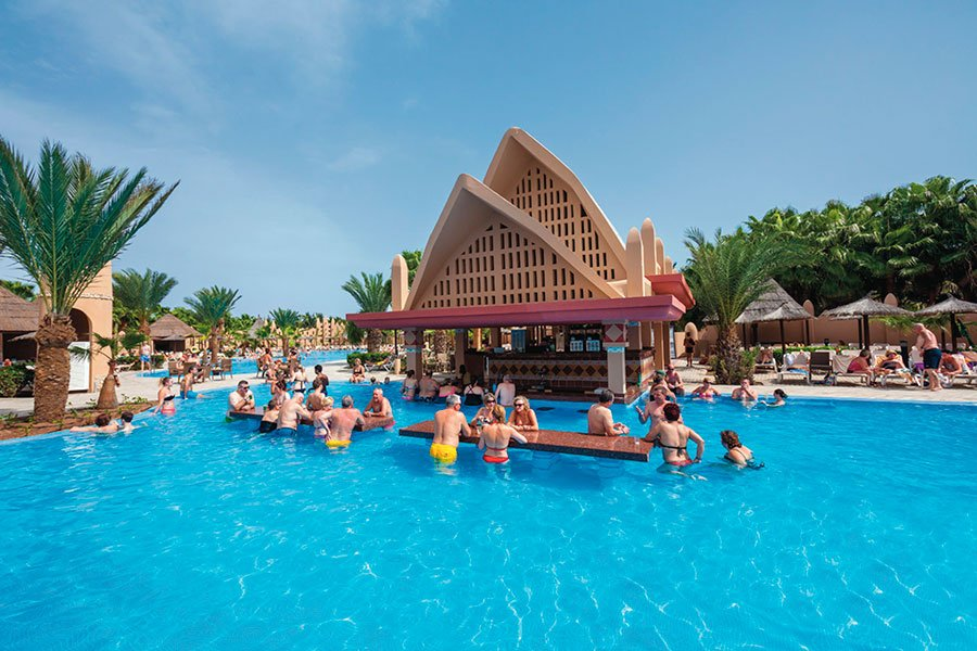 Hotel RIU Funana Sal poolbar