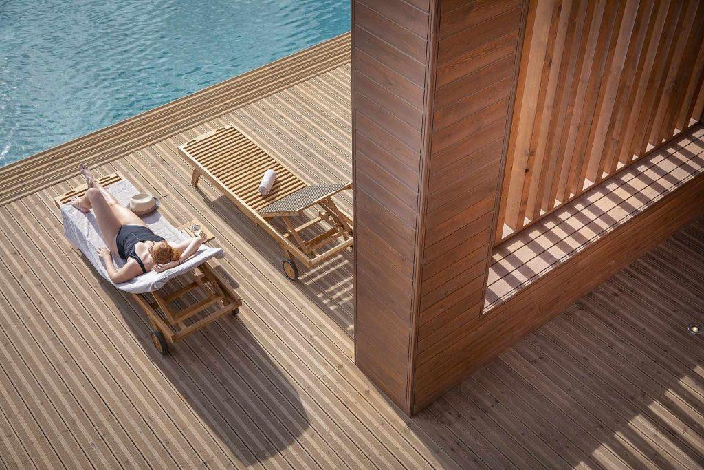 Hotel Robinson Club Cabo Verde Sal zwembad ligbedden