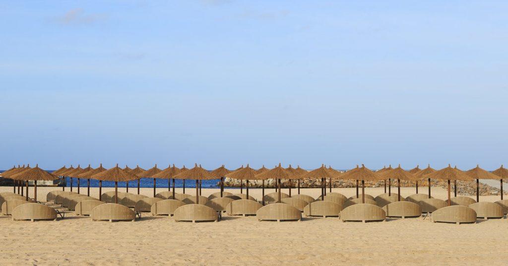 Hotel Sol Dunas Sal ligbedden strand