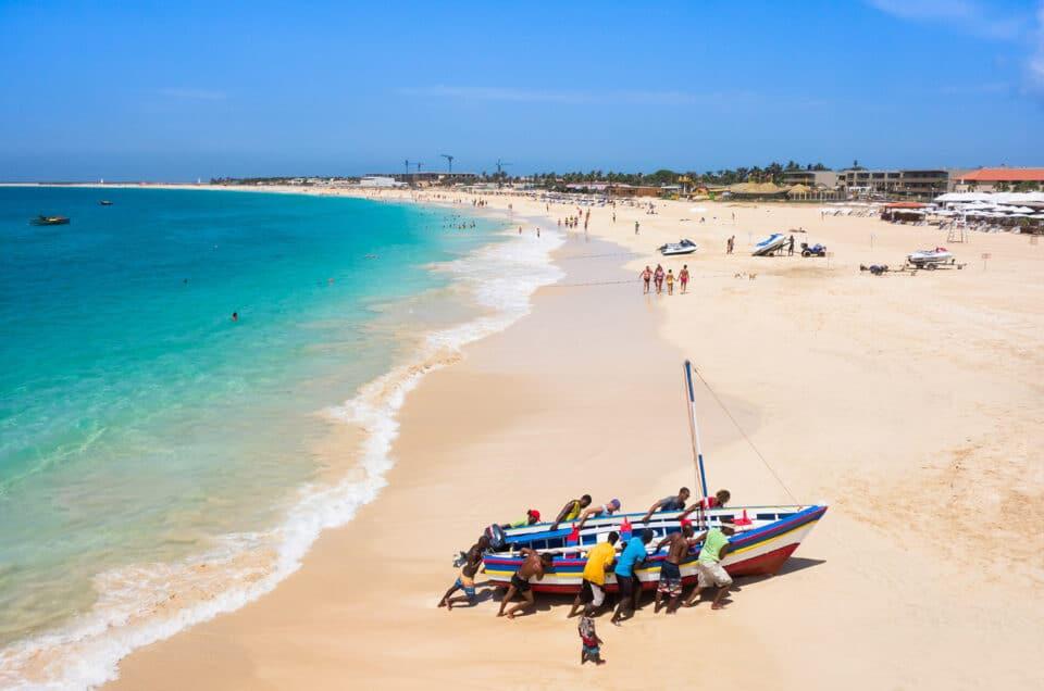Kaapverdië Sal Santa Maria strand