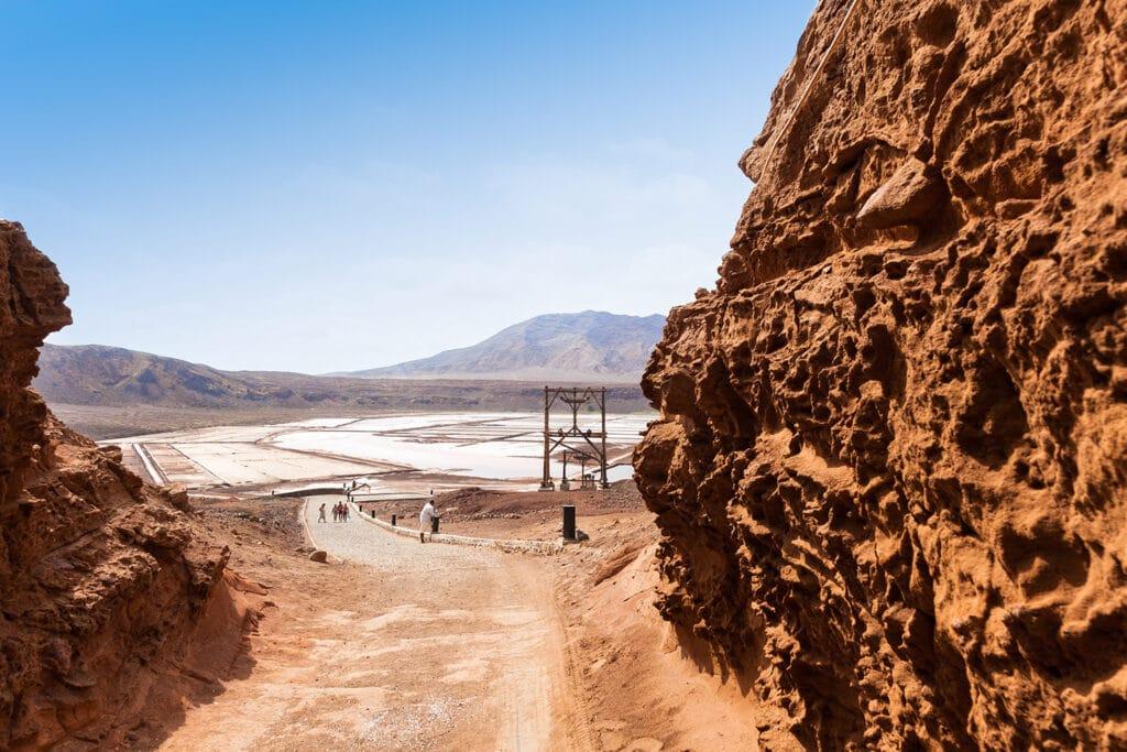 Kaapverdië Sal zoutmijnen