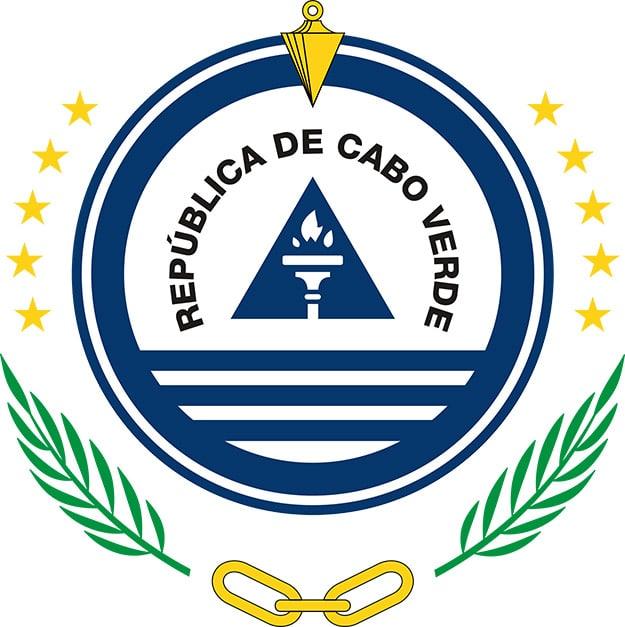 Het wapen embleem van Kaapverdië