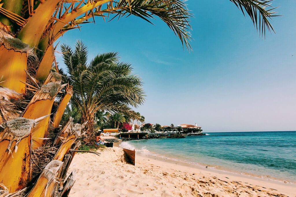 Santa Maria strand op het Kaapverdische eiland Sal