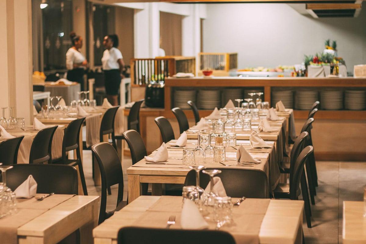 Hotel Halos Casa Resort Sal Kaapverdië, Santa Maria, restaurant