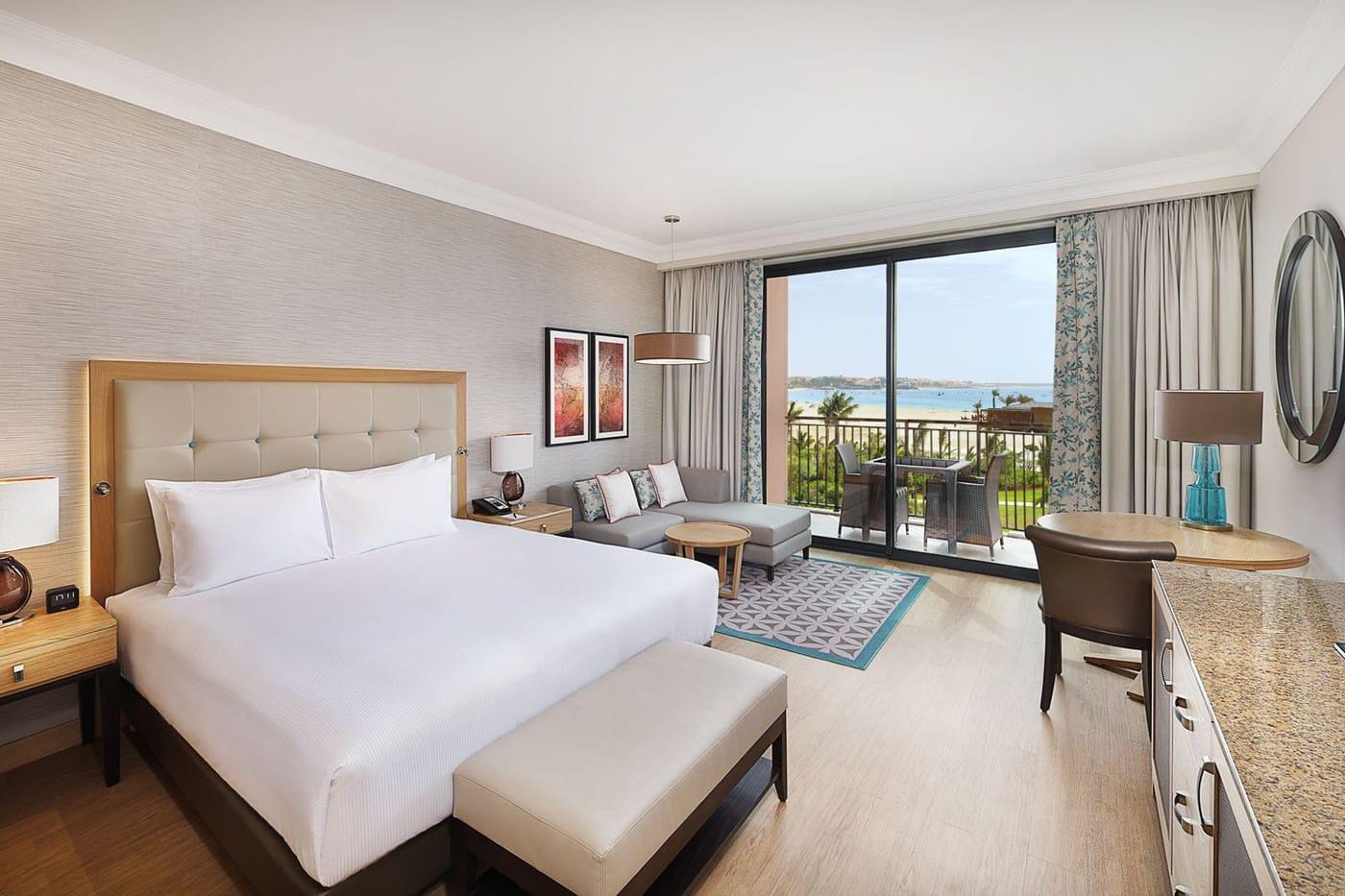 Hotel Hilton Cabo Verder Sal resort, Kaapverdië Santa Maria, kamer zeezicht
