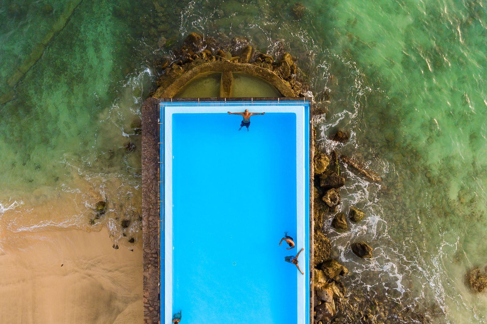 Hotel Odjo D'agua Sal Kaapverdië, Santa Maria zwembad
