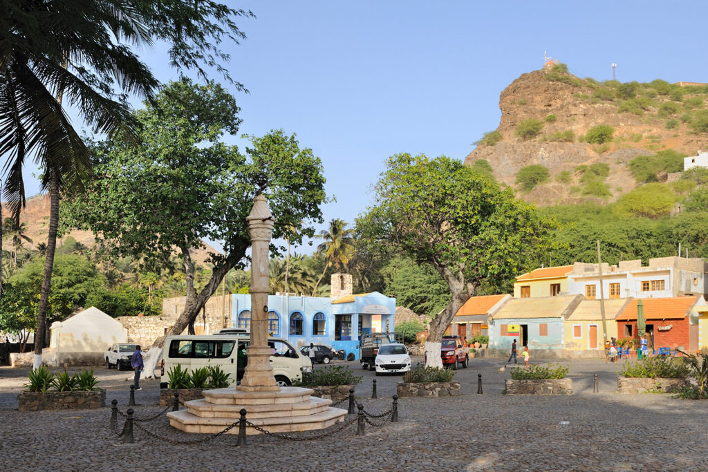 Cidade Velha, de oude stad op het Kaapverdische eiland Santiago