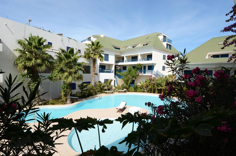 Leme Bedje appartementen, hotel, Sal Kaapverdië, Santa Maria, zwembad