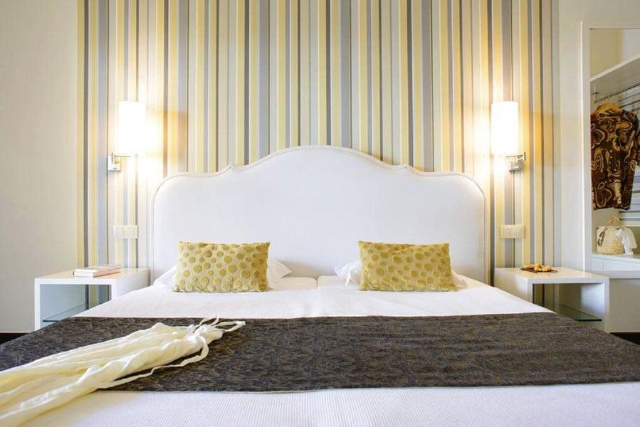 Ouril Hotel Pontao Sal Kaapverdië, Santa Maria bed hotelkamer