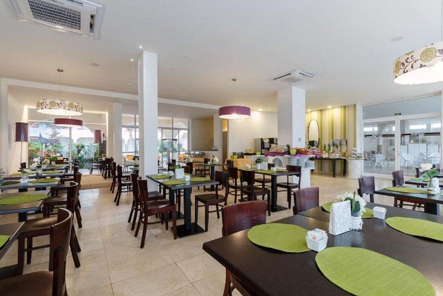 Ouril Hotel Pontao Sal Kaapverdië, Santa Maria restaurant