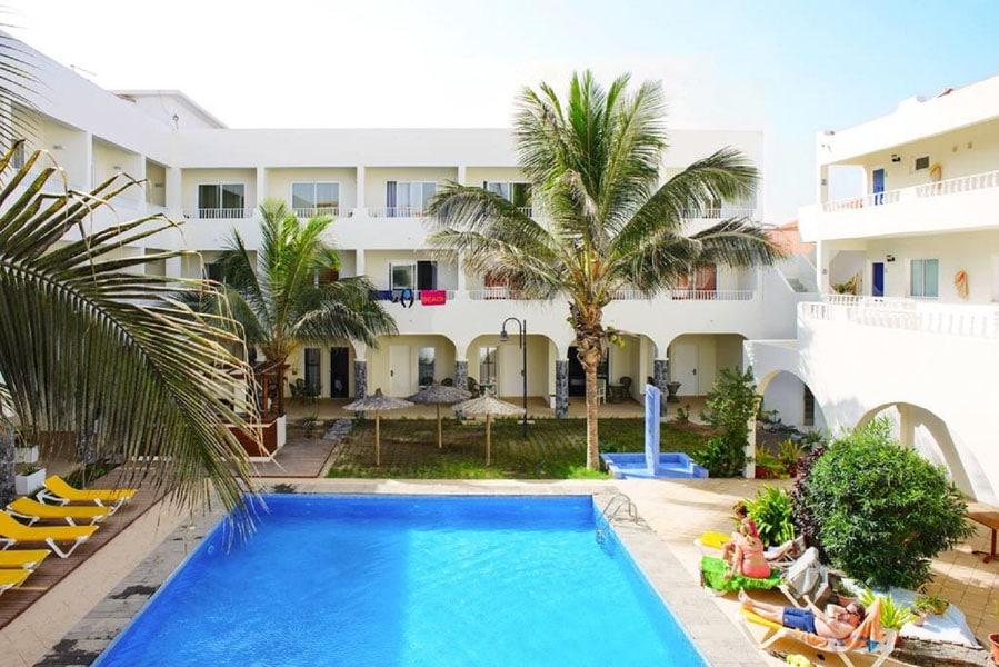 Ouril Hotel Pontao Sal Kaapverdië, Santa Maria zwembad