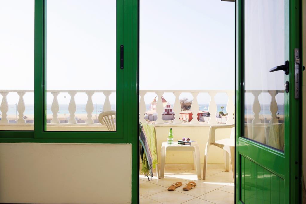Sal Kaapverdië Hotel Nha Terra kamer balkon