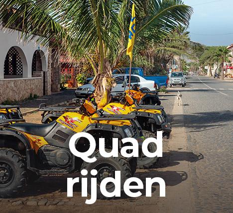 Excursie Kaapverdië quad huren en rijden